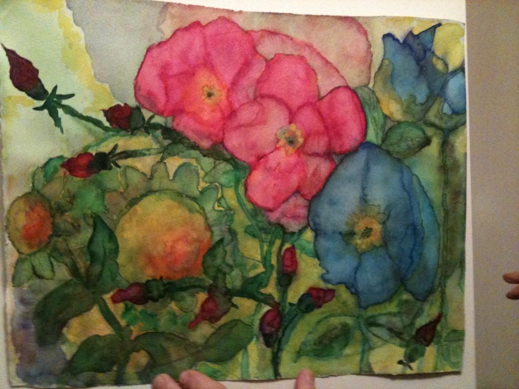 Tekenen schilderen activiteiten stichting senioren kontakt - Ruimte van de jongen kleur schilderen ...